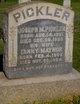 """Francis Bruton """"Fannie"""" <I>Maynor</I> Pickler"""