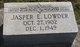 Jasper Edward Lowder