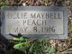 Ollie Maybell Peach