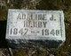 Profile photo:  Adaline J. <I>Minzey</I> Hanby