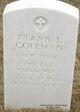 Frank L Coleman