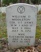 Elizabeth <I>Howe</I> Middleton