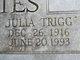Julia Trigg <I>Paty</I> Bettes