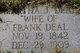 Martha Jane <I>Atwell</I> Deal