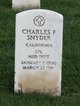Charles F Snyder