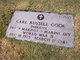 Profile photo: Pvt Carl Russell <I> </I> Cook,