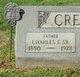 Charles Edward Creach, Sr
