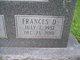 "Frances Ann ""Fran"" <I>Donohoe</I> Connell"