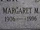 Margaret M. Shaffer