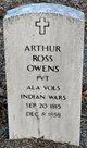 Profile photo:  Arthur Ross Owens