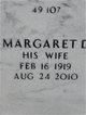 Profile photo:  Margaret Mary <I>Dion</I> Kurth