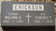 Profile photo:  Florence Thersia <I>Wilson</I> Erickson