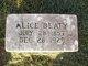 Profile photo:  Alice <I>Martin</I> Beaty