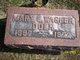 Mary E <I>Wagher</I> Dolk