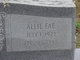 Profile photo:  Allie Fae <I>Belk</I> Lee