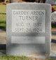 Cardey Arden <I>Turner</I> Turner