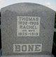 Corp Thomas Bone