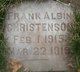 Frank Albin Christenson