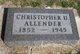 Christopher U Allender