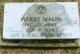 Harry Malin