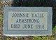 Johnnie Hazle Armstrong