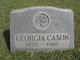 Georgia Clayton <I>Tatum</I> Cason