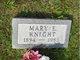 Mary Elizabeth Thalman Imhoff <I>Graham</I> Knight