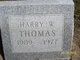 Harry W Thomas