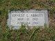 Profile photo:  Ernest L. Abbott