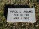 Virgil L. Adams