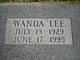 Wanda Lee Green