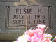 Profile photo:  Elsie H. <I>Sartain</I> Adams