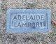 Profile photo:  Adelaide Lamport