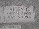 Profile photo:  Allen G. Balmer