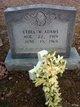 Ethel M. <I>Conley</I> Adams