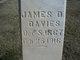 Profile photo:  James D. Davis