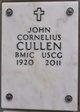 Profile photo:  John Cornelius Cullen
