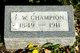 Fred W Champion
