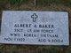 Profile photo: Sgt Albert A Baker