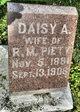 Profile photo:  Daisy A. <I>Stevens</I> Piety