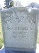Profile photo:  John M. Fenton, Jr