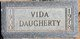 Vida <I>Greenfield</I> Daugherty