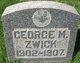 George Marx Zwick