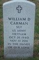 Profile photo:  William D Carman