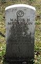 Maude Hazel <I>Webster</I> Middleton
