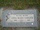 Anna Marie <I>Lauer</I> Carlock