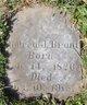 Profile photo:  Andrew Jackson Brant