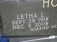 Letha Lillian <I>Densmore</I> Holt