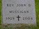 Rev John D Mulligan