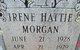 Irene Hattie Morgan